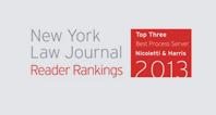 New York Law Journal Reader Rankings